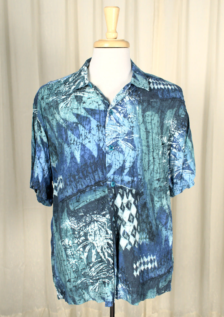 Blue Ocean Hawaiian Shirt