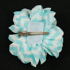 Blue Rhinestone Chevron Puff by Cats Like Us : Cats Like Us