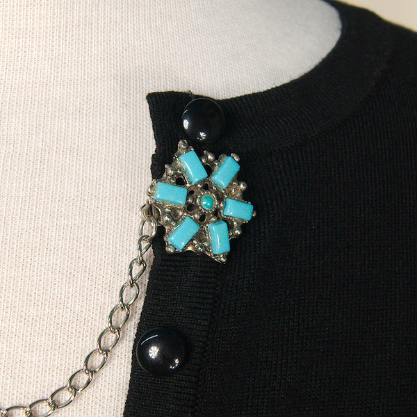 Blue Star Sweater Clips