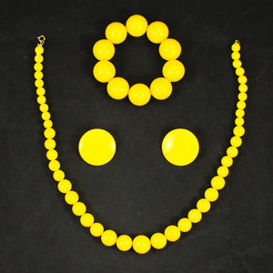 Bright Yellow Bead Set