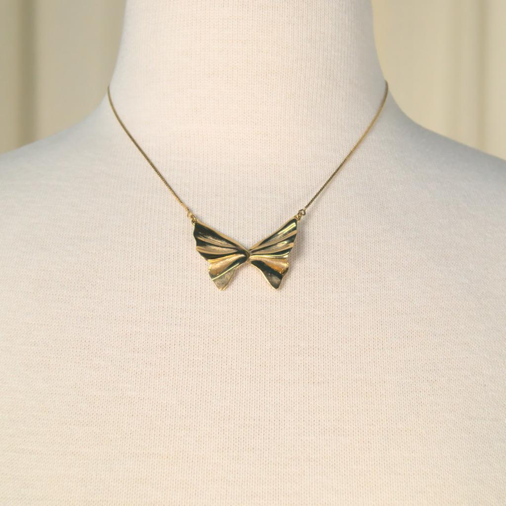 Butterfly Shaped Necklace