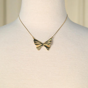 Butterfly Shaped Necklace - Cats Like Us