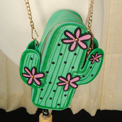 Cacti Crossbody Handbag