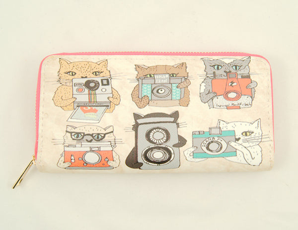 Camera Cats Wallet by Cats Like Us : Cats Like Us
