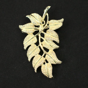 Cascading Leaf Brooch - Cats Like Us