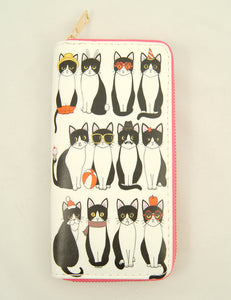 Cat of All Seasons Wallet by Cats Like Us : Cats Like Us