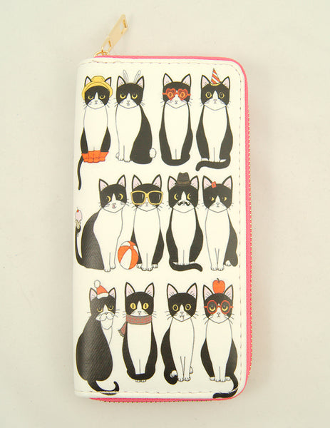 Cat of All Seasons Wallet - Cats Like Us