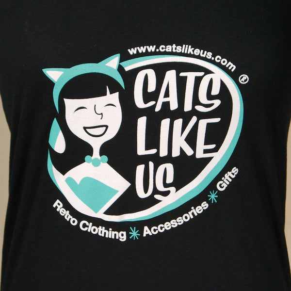 Cats Like Us Scoop Neck T by Cats Like Us : Cats Like Us