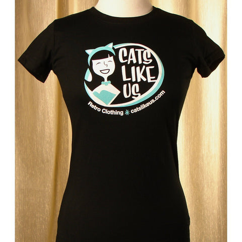 Cats Like Us SS Logo T by Cats Like Us