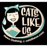 Cats Like Us SS Logo T - Cats Like Us