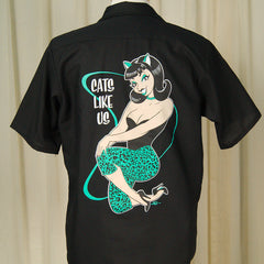 Cats Like Us Work Shirt