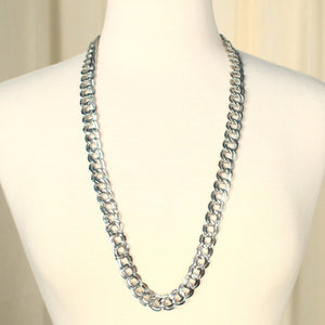 Chunky Silver Chain Necklace - Cats Like Us