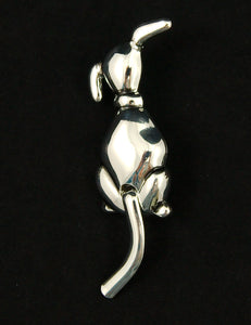 Cats Like Us Cold Shoulder Dog Brooch Pin for sale at Cats Like Us - 1
