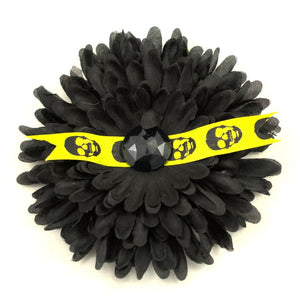Creepy Skull Hair Flower - Cats Like Us