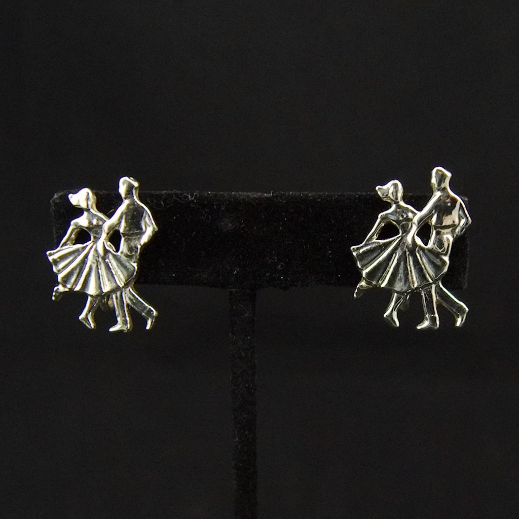 Vintage Dancer Earrings - Cats Like Us