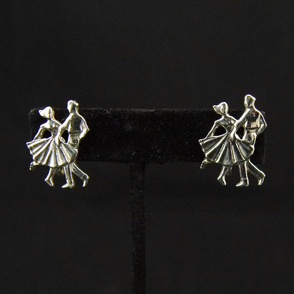 Vintage Dancer Earrings