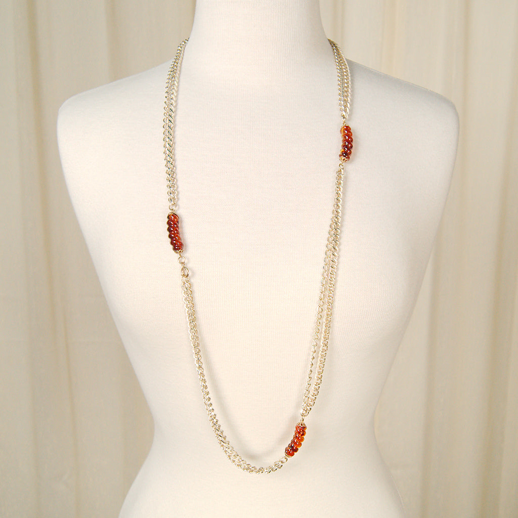Extra Long Gold Chain Necklace