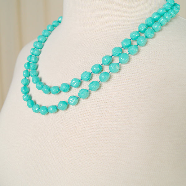 Extra Long Turquoise Necklace