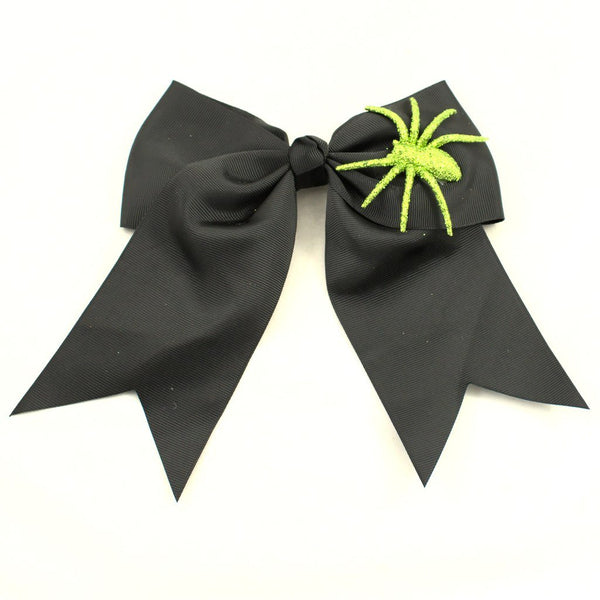 Glitter Spider Hair Bow