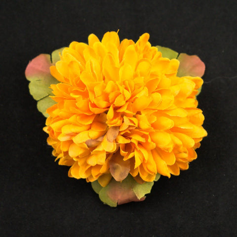 Golden Cluster Hair Flower - Cats Like Us