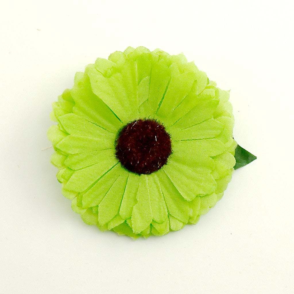 Green Mini Daisy Flower by Cats Like Us