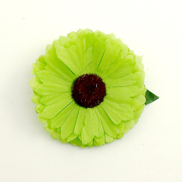 Green Mini Daisy Flower