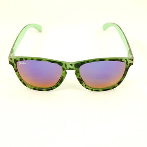 Cats Like Us Green Psychobilly Zebra Sunnies for sale at Cats Like Us - 1