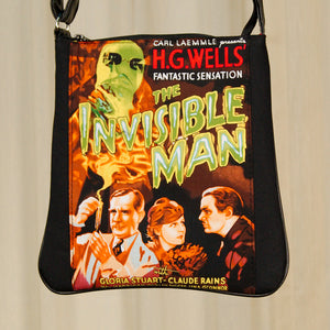 Invisible Man Messenger Bag - Cats Like Us