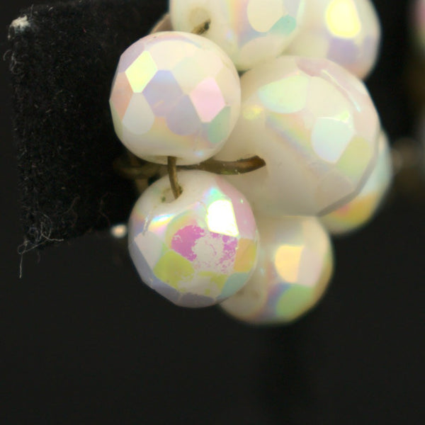 Iridescent Cluster Earrings - Cats Like Us