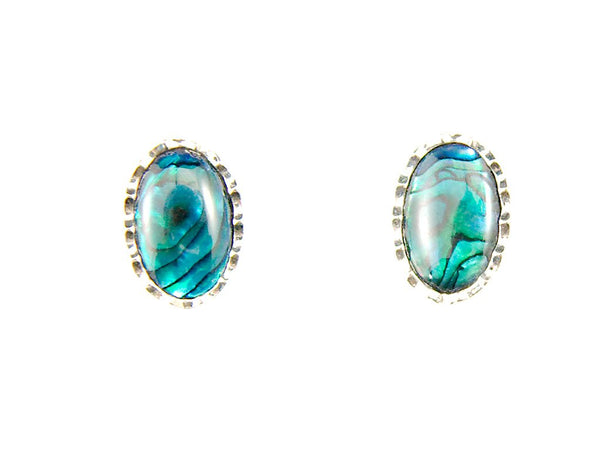 Iridescent Turquoise Cuff Links