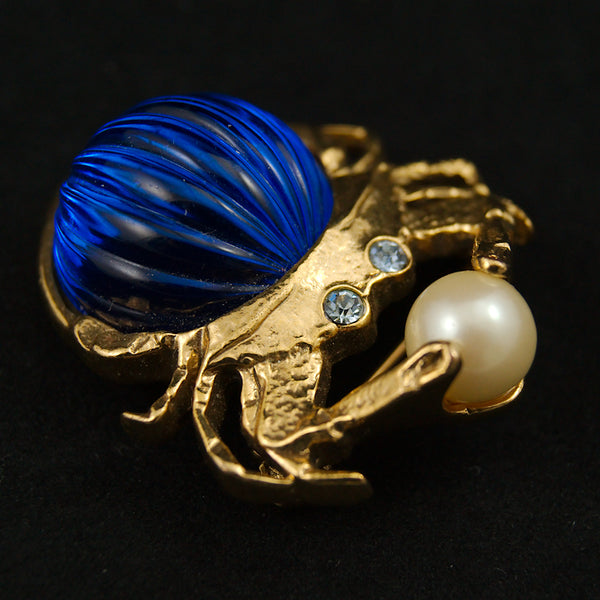 Jelly Belly Crab Brooch