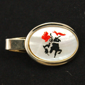 Knight Cufflinks & Tie Bar Set - Cats Like Us
