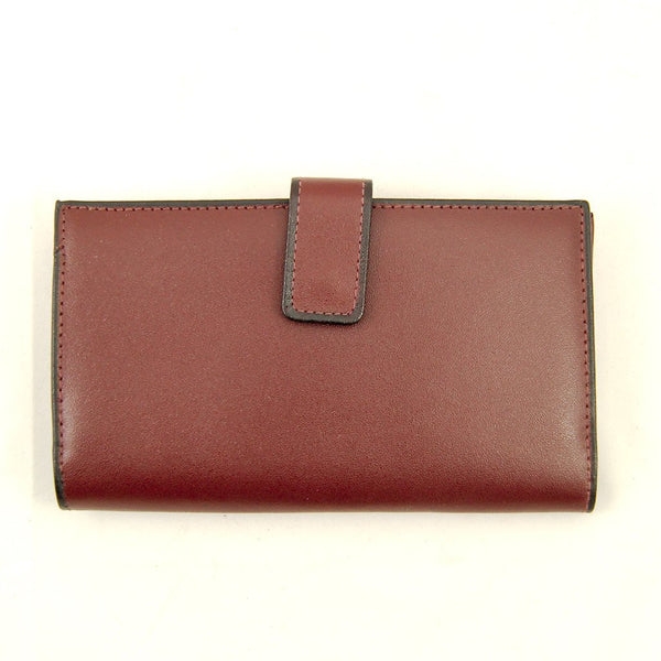 Large Brown Leather Wallet