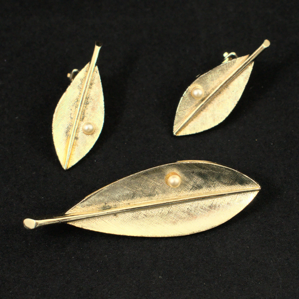 Leaf and Pearl Set
