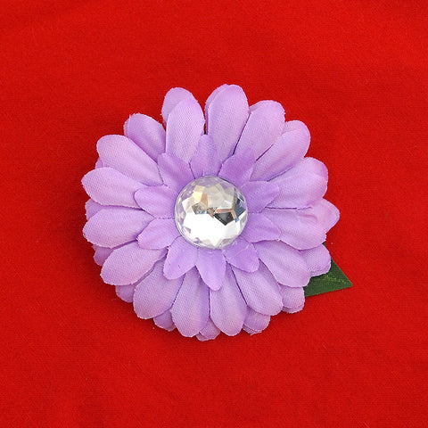 Lilac Mini Bling Daisy Flower - Cats Like Us