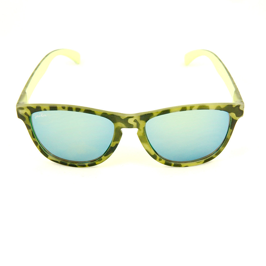 Cats Like Us Lime Psychobilly Zebra Sunnies for sale at Cats Like Us - 1