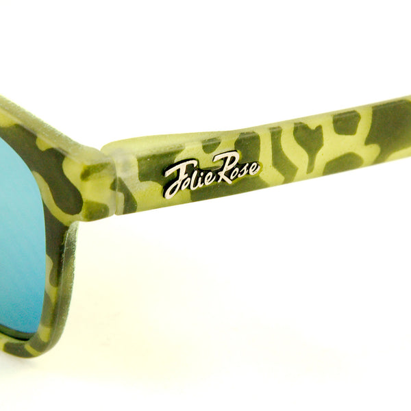 Cats Like Us Lime Psychobilly Zebra Sunnies for sale at Cats Like Us - 2