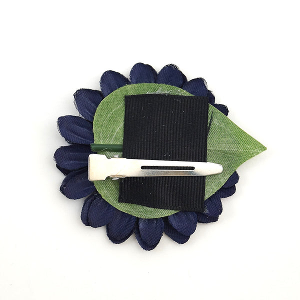 Navy Mini Bling Daisy Flower - Cats Like Us