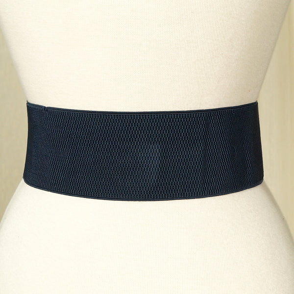 Navy Pinup Cinch Belt by Cats Like Us : Cats Like Us