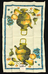 NWT Urn & Fruit Tea Towel