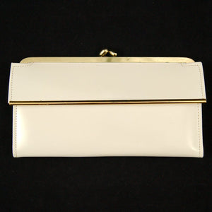 Off White Polished Wallet
