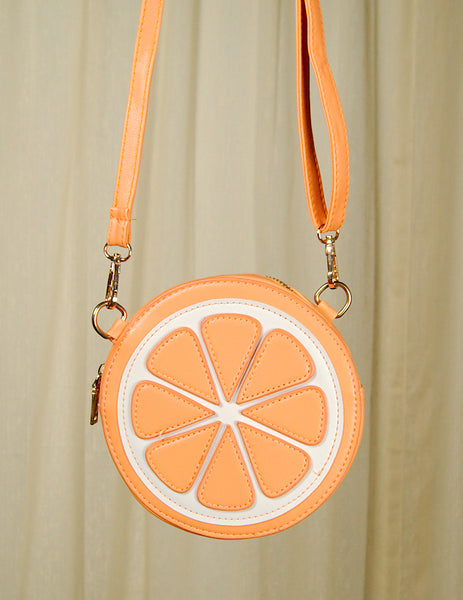 Orange Slice Messenger Bag by Cats Like Us : Cats Like Us