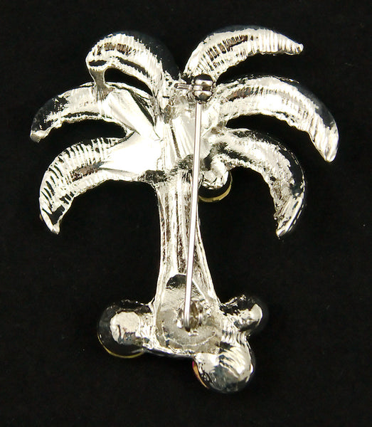 Cats Like Us Palm Tree Brooch Pin for sale at Cats Like Us - 3