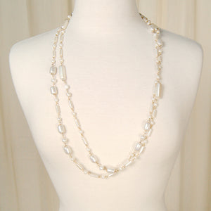 Pearl & Chain Necklace Set