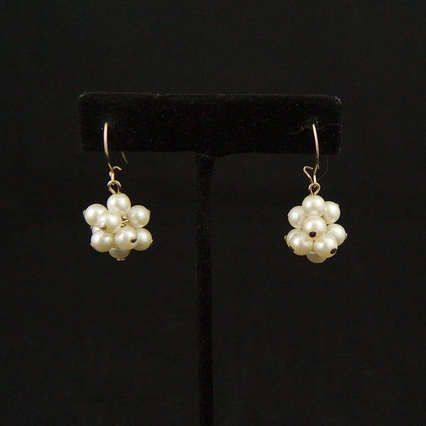 Pearl Ball Earrings