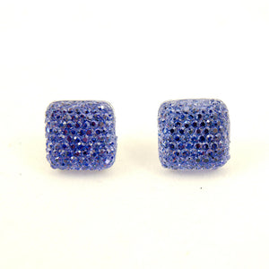 Periwinkle Sparkle Earrings by Cats Like Us : Cats Like Us