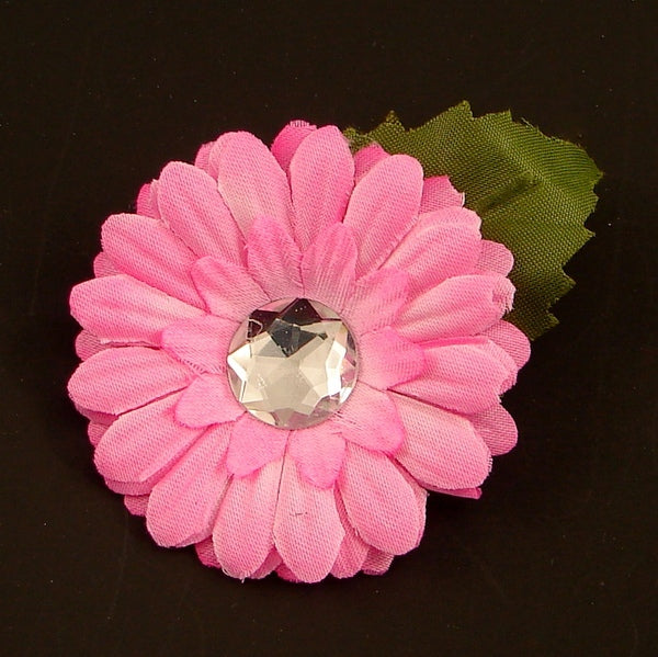 Pink Mini Bling Daisy Flower