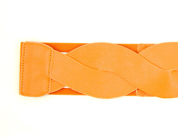Cats Like Us Pumpkin Swirl Cinch Belt for sale at Cats Like Us - 2