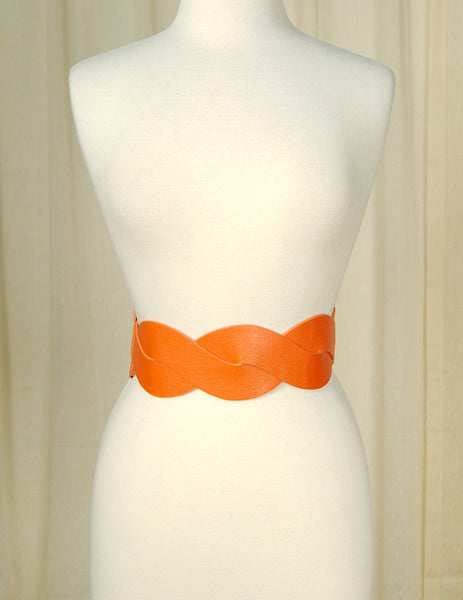 Cats Like Us Pumpkin Swirl Cinch Belt for sale at Cats Like Us - 1