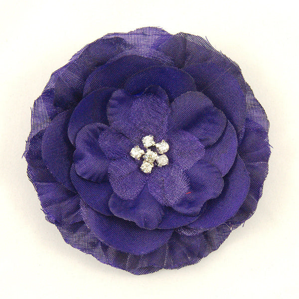 Cats Like Us Purple Buttercup Hair Flower for sale at Cats Like Us - 1